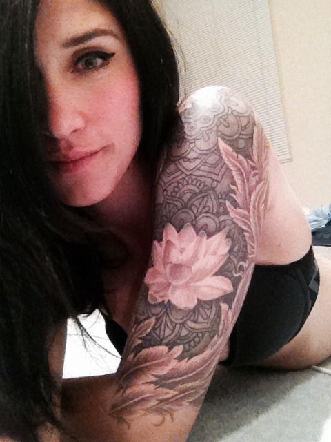 Half sleeve by Cam at Dr Morse Inc Tattoo Studio, Wellington NZ