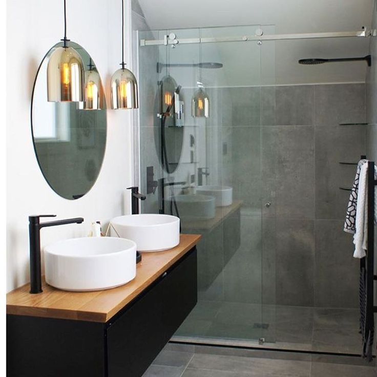 Frameless sliding shower. Great option in bathrooms with limited space. We have two on display in our showroom. Shop 7 97-103 Melbourne St…