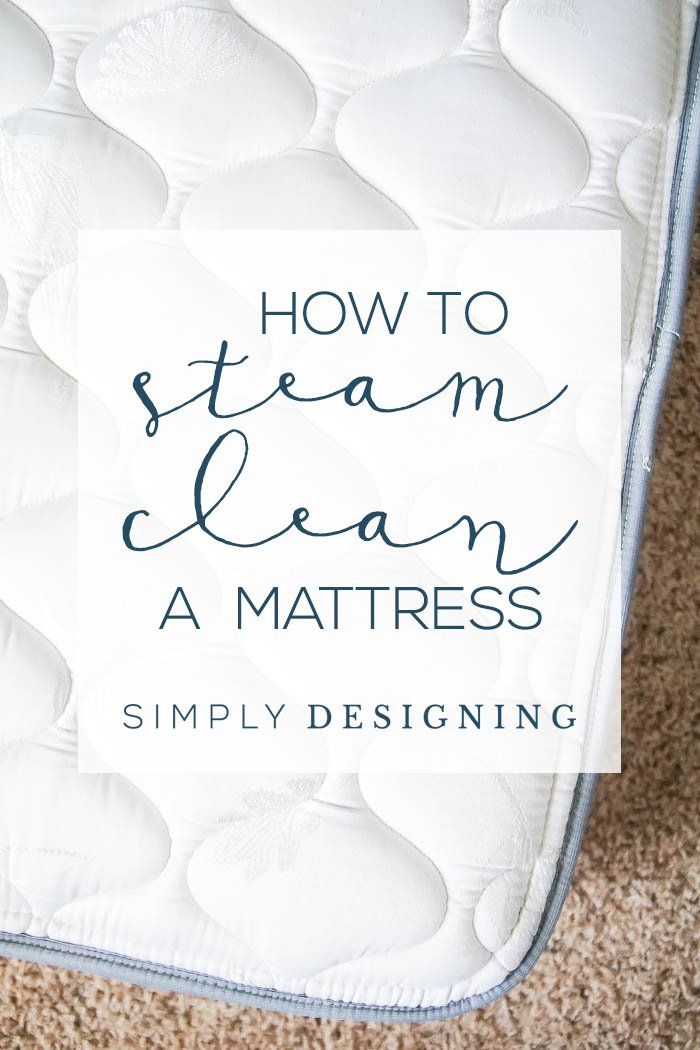 I love sleeping on a clean mattress! But did you know that over time, mattresses can get dirty?
