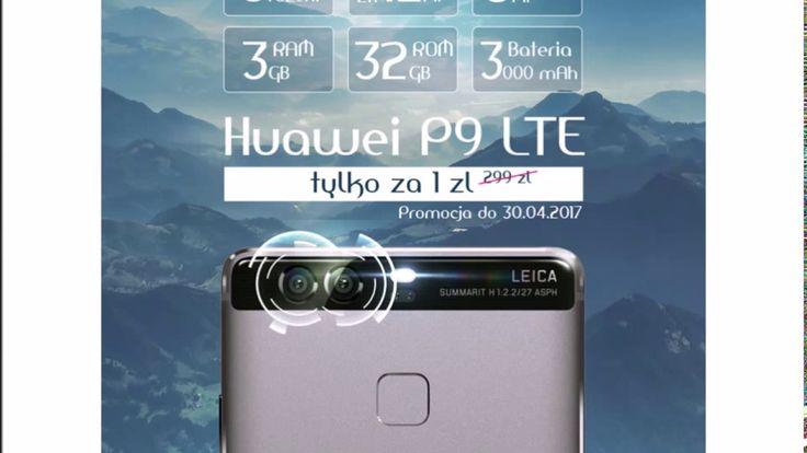 Huawei P9 LTE -  smartfon roku 2016 w PROMOCJI!!!