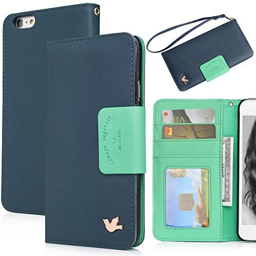 iPhone 6S Case,[4.7inch]Wallet Case,Premium PU Leather&Soft TPU Back,Impact Resistant&Scratch-proof Credit Card Holder,Magnetic Flip Cover[Blue] AILUN http://www.amazon.com/dp/B015H8UIWO/ref=cm_sw_r_pi_dp_HtVwwb12TD36N