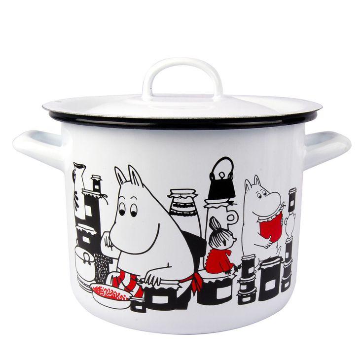Moomin pot 3,5 l white