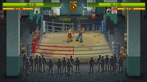 Manage Your Fighter From Rags to Riches in VHS Story