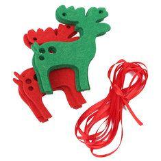 #Banggood 10шт лось рождественские гирлянды овсянка баннер висит украшение олень (1006006) #SuperDeals