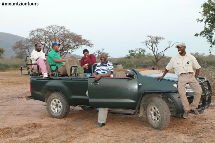 Family Holiday Safari in the African bush with Mount Zion Tours and Travels.