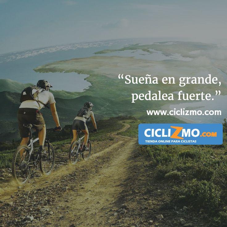 Sueña en grande, pedalea fuerte!  #ciclizmo #TiendaOnlineCiclizmo #ciclismo…