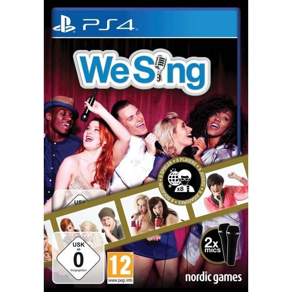 We Sing 2-Mic Bundle PS4 Game | http://gamesactions.com shares #new #latest #videogames #games for #pc #psp #ps3 #wii #xbox #nintendo #3ds