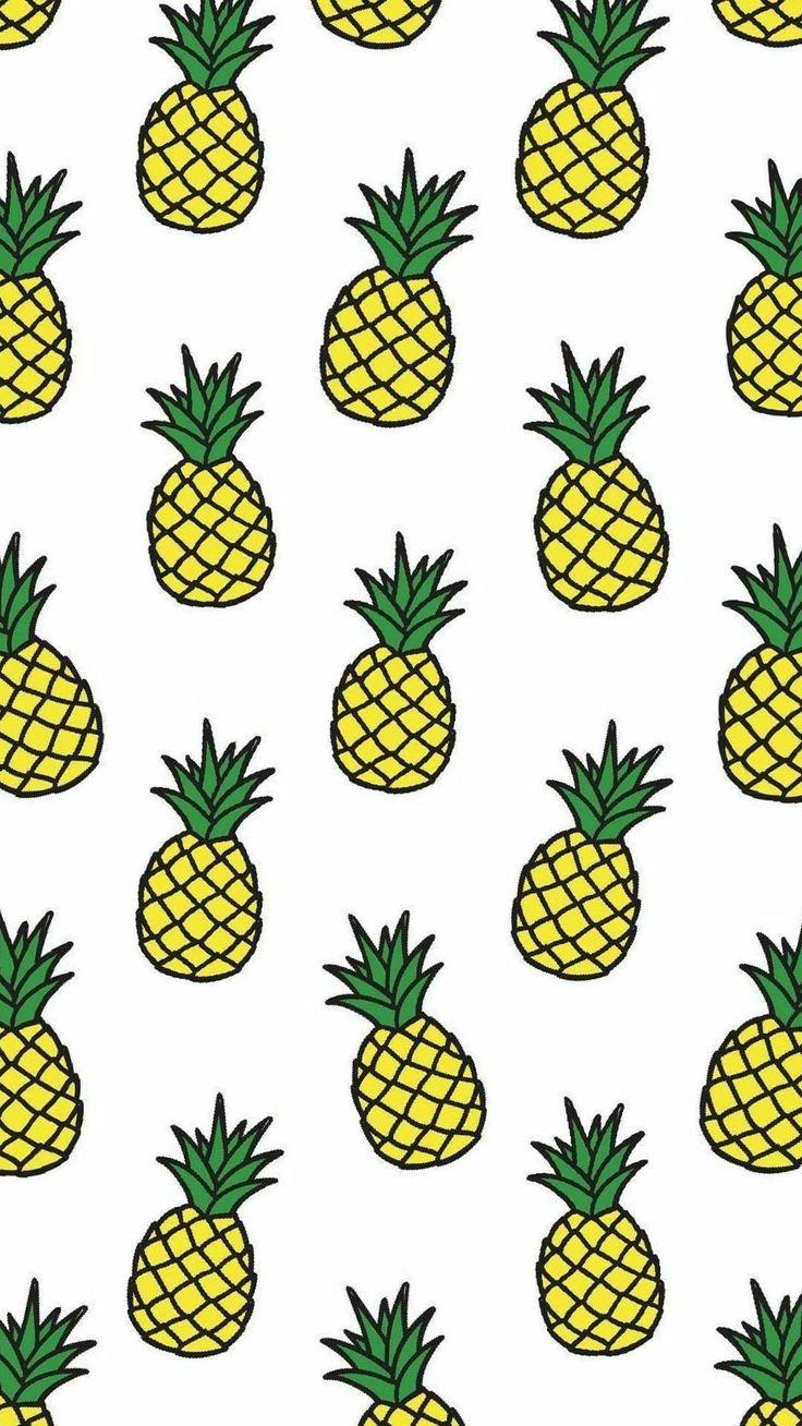Картинки для бейджика с ананасами, для