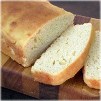 bread made with garbonzo bean flour? this sounds fun to try!