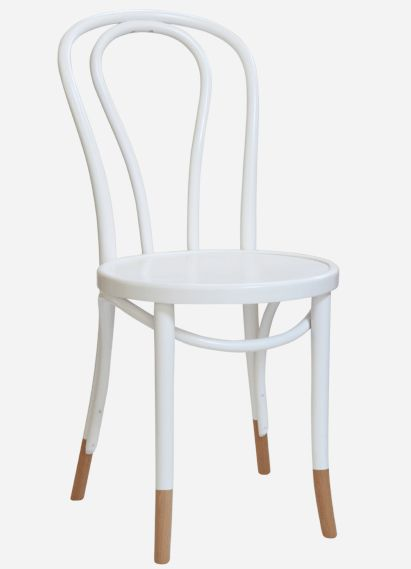 No.18 Bentwood Cafe chair Thonet - Michael Thonet 1876  Custom paint finish and Natural sock detail