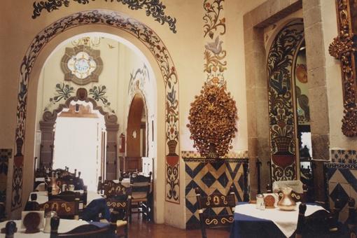 Cafe Tacuba in centro historico, Mexico city