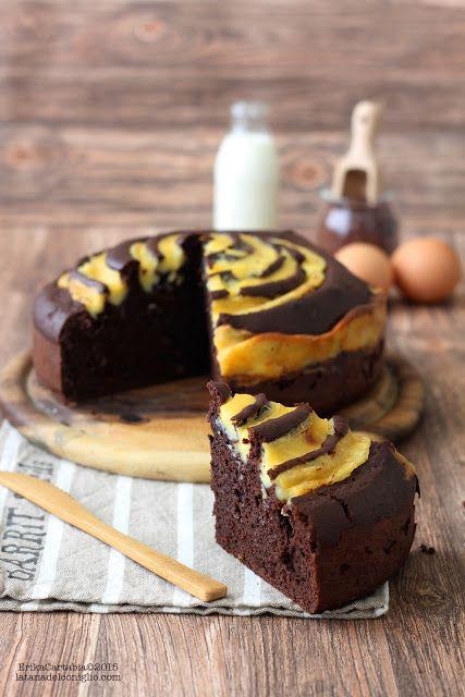 La tana del coniglio: Torta Girella al cacao e vaniglia