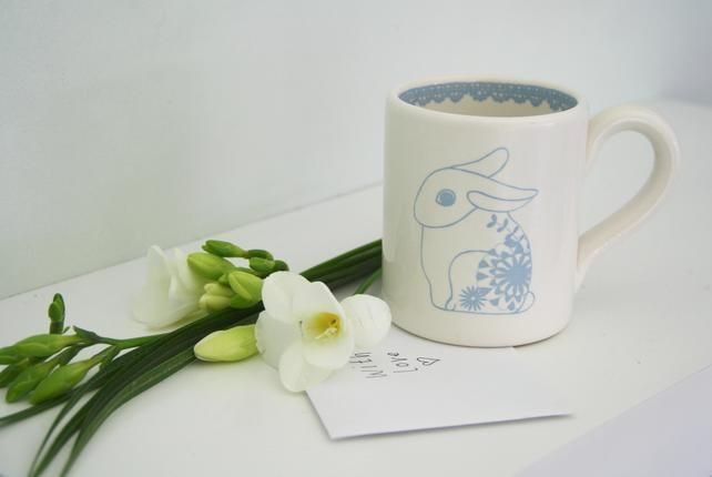 Mug with Rabbit