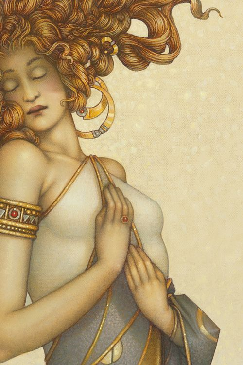 """Morning Light""   By Michael Parkes"