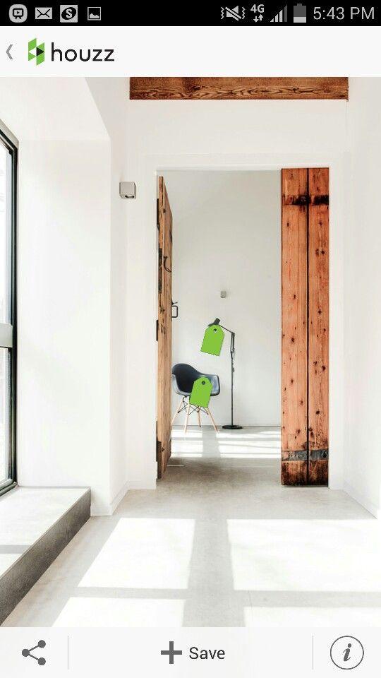 recycled timber internal door