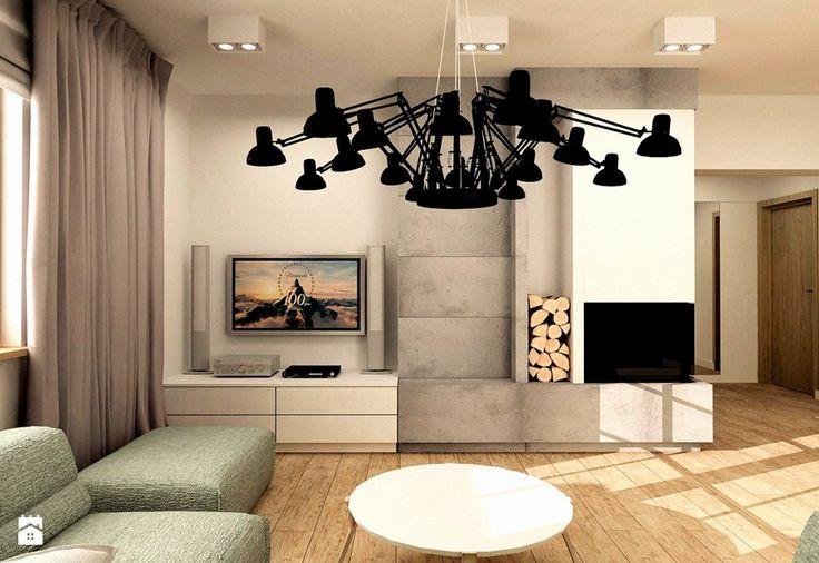 MINIMALISTYCZNY DOM - Średni salon, styl minimalistyczny - zdjęcie od design me too