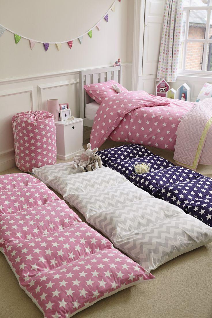 bed in a bag, sleepover, kids' sleepovers, fold-away beds