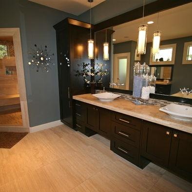 or marble for bathrooms pinterest dark cabinets bathroom