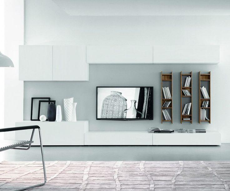 114 best u003eu003e TV Wohnwände u003cu003c images on Pinterest Tv walls - moderne wohnzimmereinrichtung