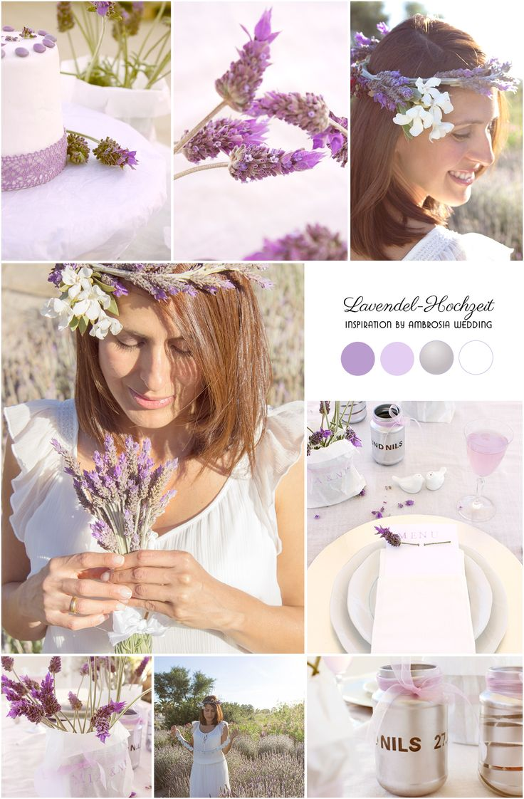 moodboard lavender wedding inspirationboard