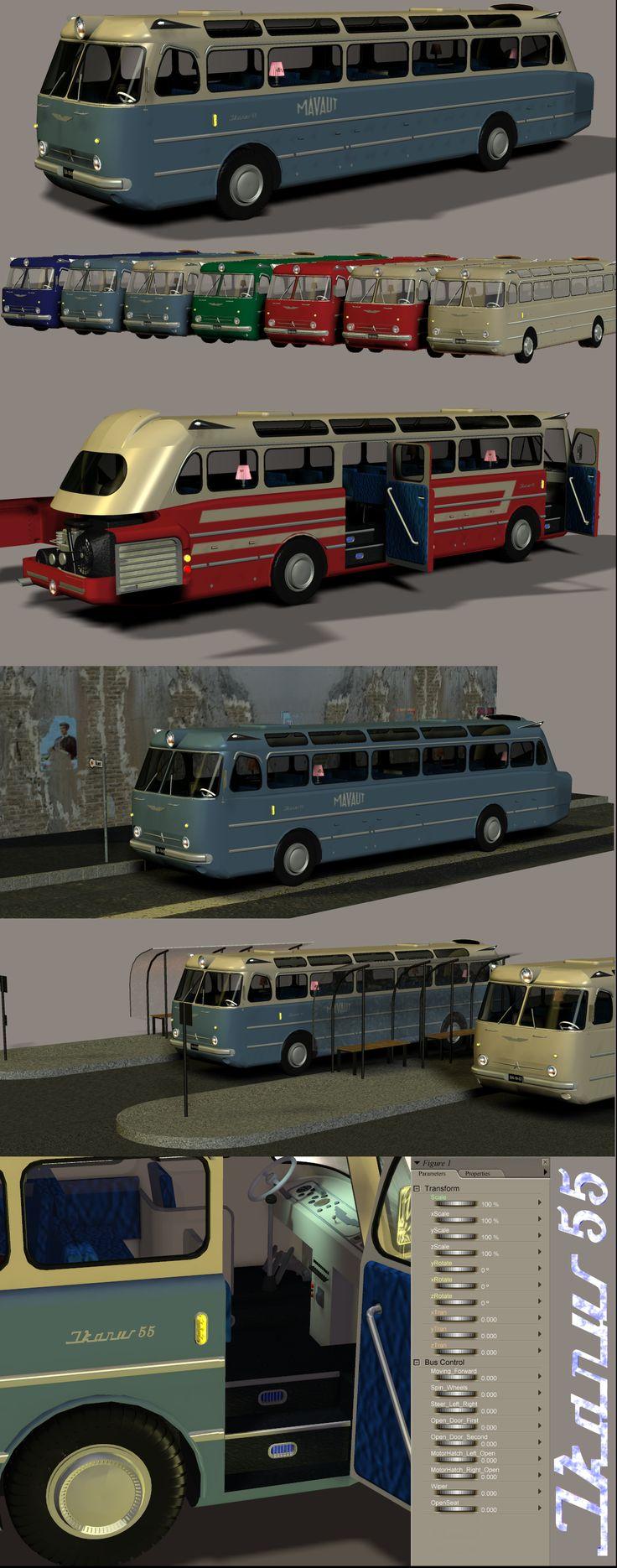 Ikarus 55 coach