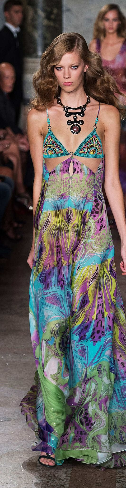 Bohemian Gypsy Chic. Emilio Pucci Collection Spring 2015
