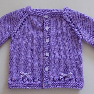Maxine Baby Cardigan Jacket pattern by marianna mel