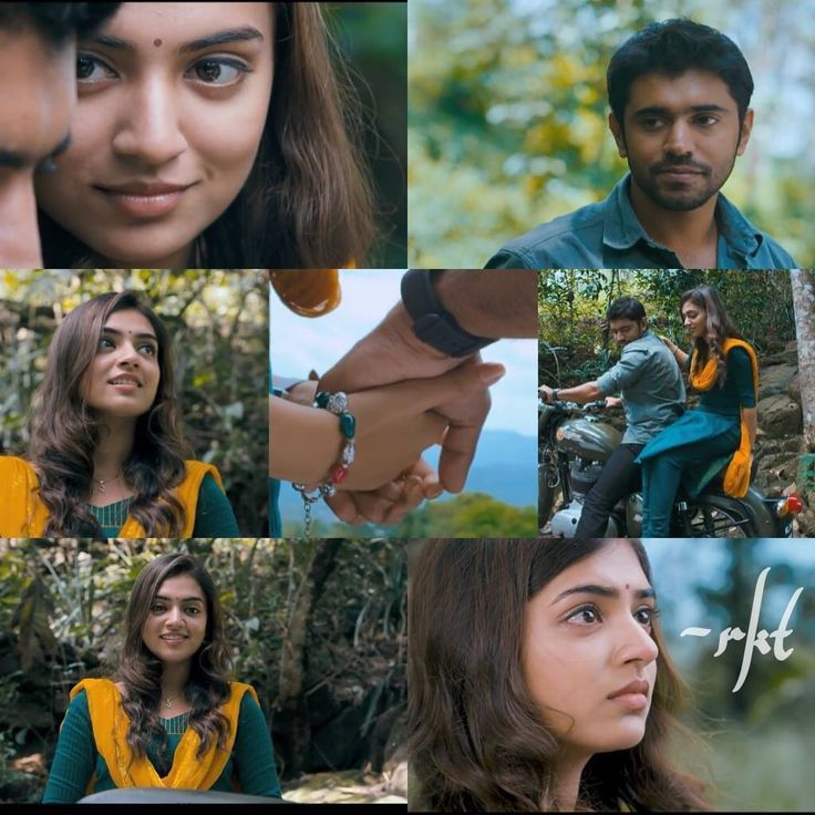 Nivin and Nazriya