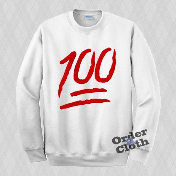 100 Emoji Sweatshirt