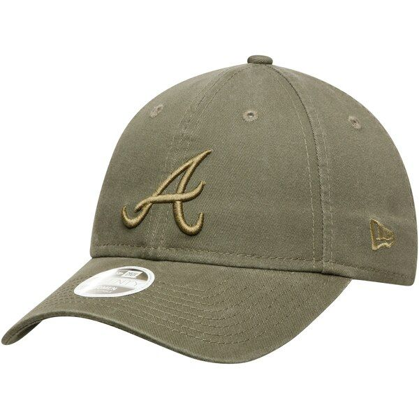 Atlanta Braves New Era Women S Olive Tonal Core Classic 9twenty Adjustable Hat Green Atlantabraves Adjustable Hat Atlanta Braves Logo Atlanta Braves