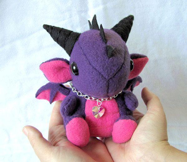 Dragon Plushie 1 by *DragonsAndBeasties