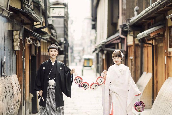京都 祇園|関西シチュエーション別フォトギャラリー|和装・洋装前撮り、後撮り、披露宴撮影2次会撮影や各種記念撮影なども対応します
