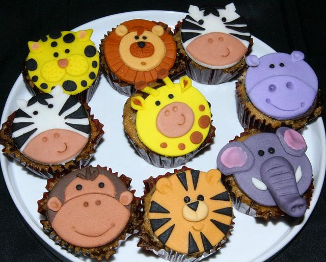 safari cupcakes | Safari cupcakes | Flickr - Photo Sharing!