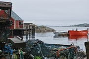 Until Tomorrow -  ocean, maritime, peggy's cove, fishing, lobster trap, boat, vacation, travel, family time, coast, coastal, overcast, seawater, outdoor, tide, early settlers, trade, commerce, shipbuilding, confederation, colonial, summer, adventure, heritage, cultural experience, best, top rated, top selling, pinterest, canada