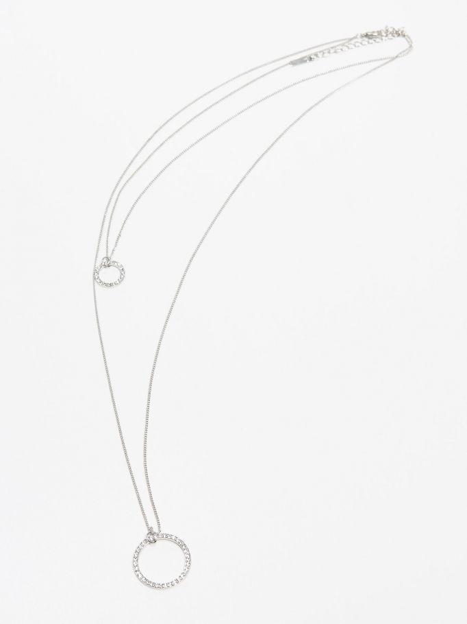 Naszyjnik typu celebrytka, MOHITO, QZ696-SLV