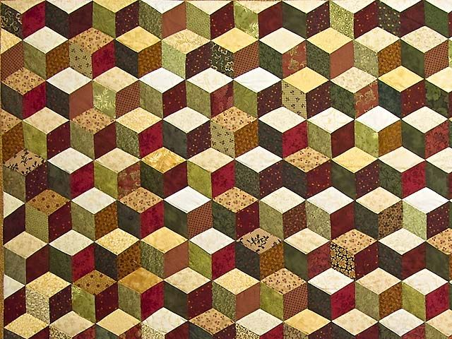 34 best Tumbling Block Quilts images on Pinterest | Block quilt ... : baby blocks quilt - Adamdwight.com