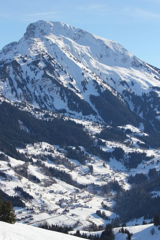 Le mont de Grange Abondance Haute Savoie 74360 Neige