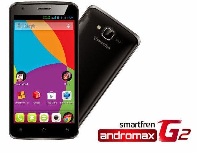 Spesifikasi dan Harga Terbaru Smartfren Andromax G2