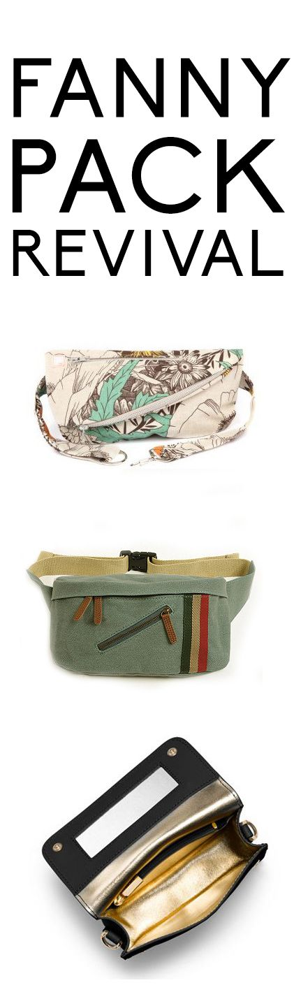 See how the fanny pack has become stylish and cool again.