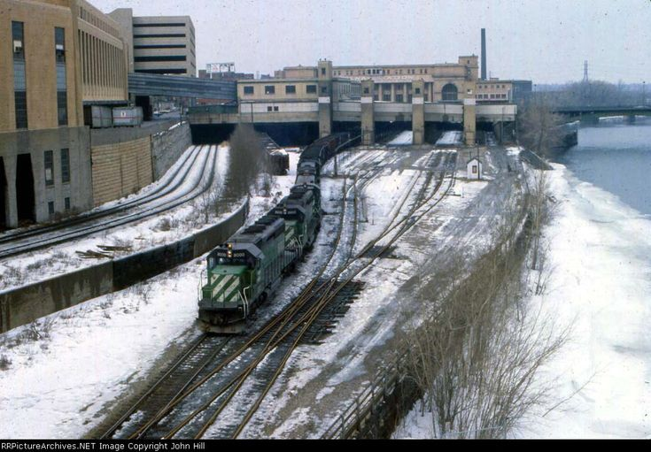 Image result for great northern railroad depot minneapolis