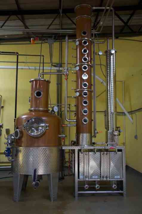 """""""Pedro Mandinga rums are distilled in a small copper pot still and bottled at our distillery in Panama City. We mature our rum in repurposed American white oak whiskey barrels."""""""