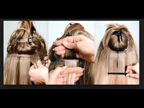 Tape In Hair Extensions: What You NEED To Know Before Getting Them - check out their YouTube video