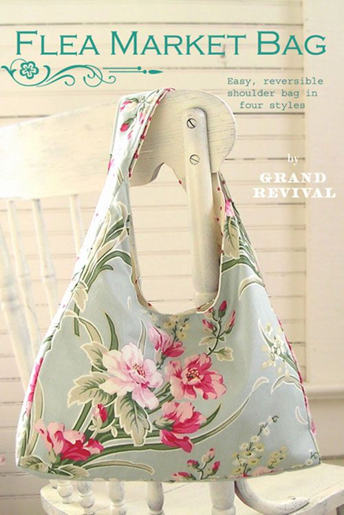 Free Fabric Handbag Patterns | Northdixie Designs: Some Free Market Bag Patterns
