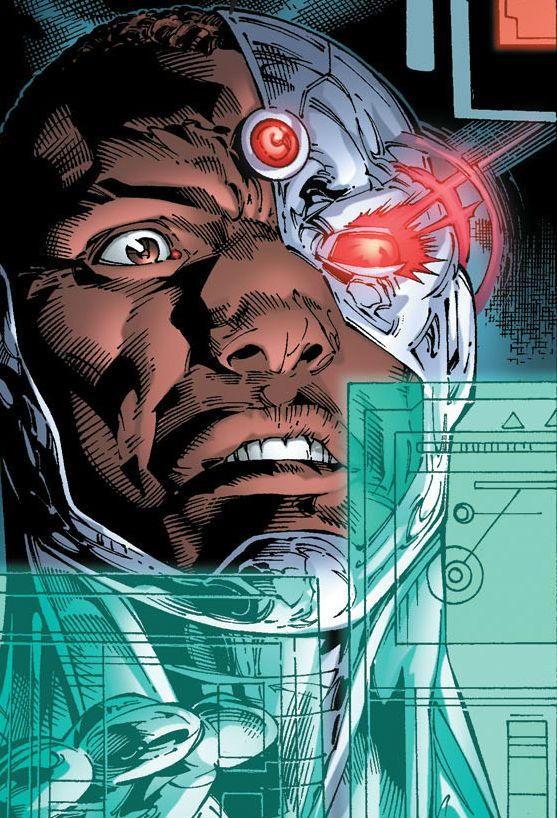 Cyborg by Ed Benes,Tony Daniel,Pascal Alixe,Cliff Richards and Jack Herbert