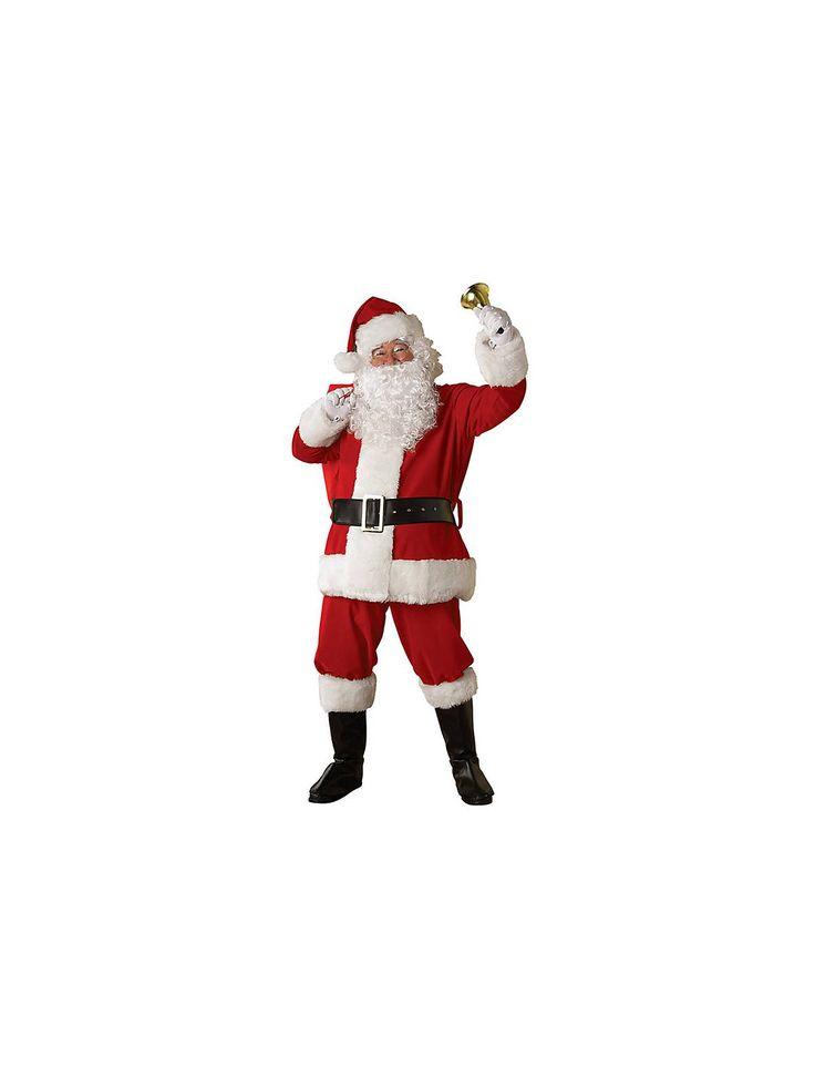Regal Santa Suit Costume | Wholesale Christmas Costumes for Adults