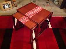 g plan Quadrille nest 2 Teak Tables Orla Kiely decor