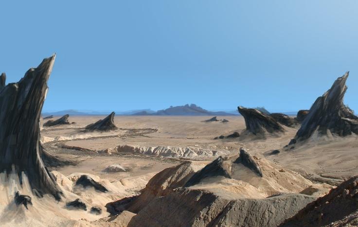 Kayalık çöl