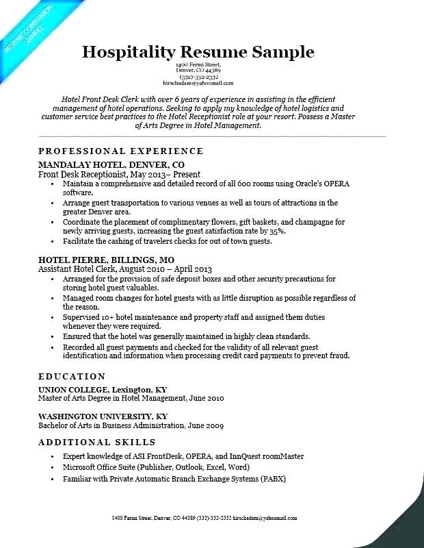 Receptionist Duties For Resume Resume Medical Resume Resume Skills
