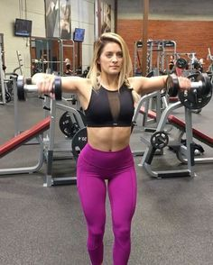 """14.5k Likes, 464 Comments - Whitney Simmons (@whitneyysimmons) on Instagram: """"DEADLY SHOULDER COMBO  I put these 3 exercises together for a tri-set that KILLED me, I'm…"""""""
