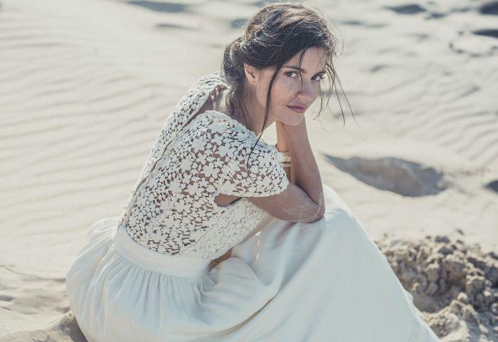 Subiektywne TOP 10 sukienek ślubnych! suknia ślubna, piekna, plecy, koronka http://www.lauredesagazan.fr/collection/robes-de-mariee-2014
